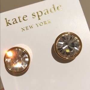 Kate Spade Reflective Pool Gumdrop Studs